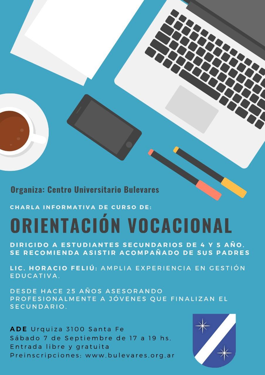 Permalink to:Curso Orientación Vocacional